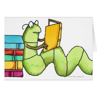 Bookworm Cards