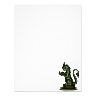 Bookworm Dragon Letterhead