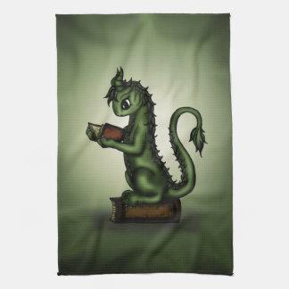 Bookworm Dragon Towels