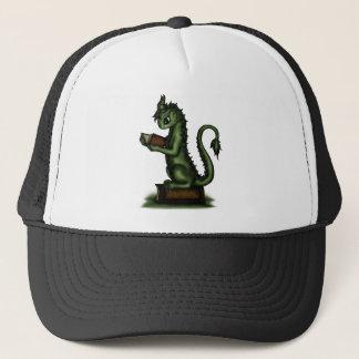 Bookworm Dragon Trucker Hat
