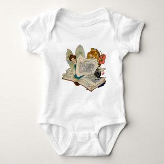 Bookworm Fairy Baby Bodysuit