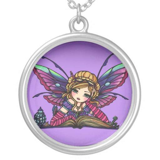 Bookworm Fairy Fantasy Art Hannah Lynn Jewelry