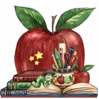 Bookworm for the Teacher's Desk - SRF Cutout