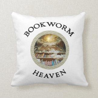 Bookworm heaven pillow