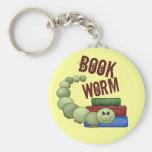 Bookworm Keychain