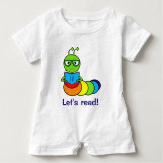 Bookworm: Let's Read! Baby Romper