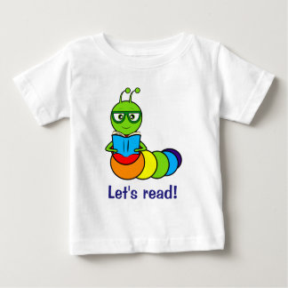 Bookworm: Let's Read! Baby T-Shirt