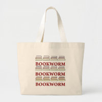 Bookworm Library Tote Bag bag