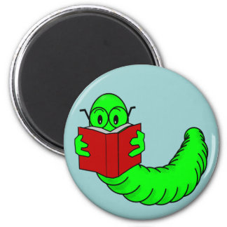 Bookworm Magnet