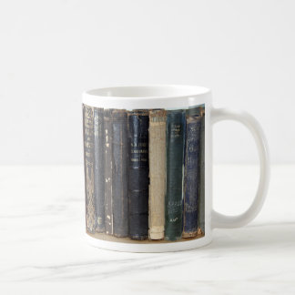 Bookworm Classic White Coffee Mug