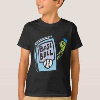 Bookworm Of Baseball T-Shirt