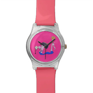 Bookworm Pinkyjain Wrist Watch