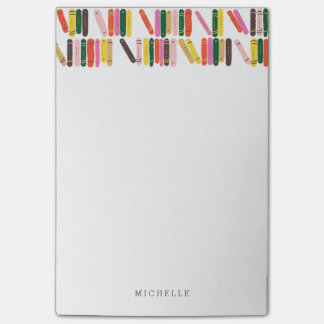 Bookworm Post-it Notes