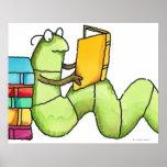 Bookworm Print