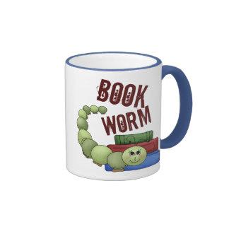 Bookworm Ringer Mug