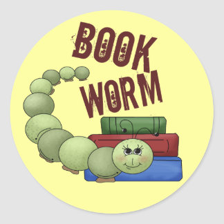 Bookworm Stickers