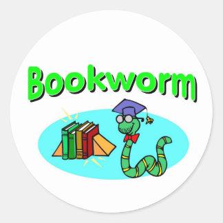 Bookworm Stickers