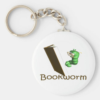 Bookworm T-shirts and Gifts. Keychain