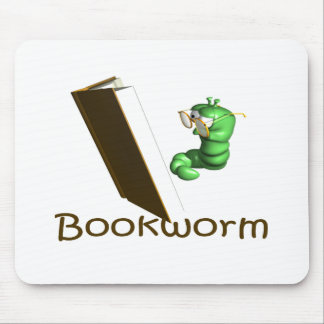 Bookworm T-shirts and Gifts. Mouse Pad