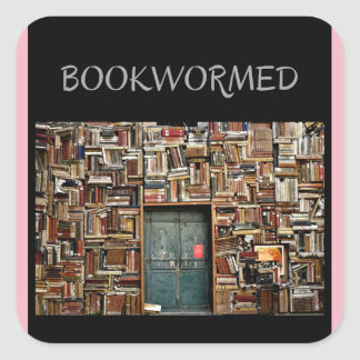 """""""Bookwormed"""" Stickers For Any Occasion"""