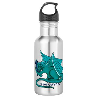 Bookwyrm Book Hug Water Bottle