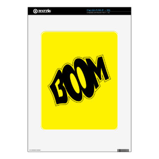 boom-147866 BOOM EXPLOSIONS COMIC FONT SHOUT EXPRE Decal For The iPad