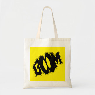 boom-147866 BOOM EXPLOSIONS COMIC FONT SHOUT EXPRE Tote Bag