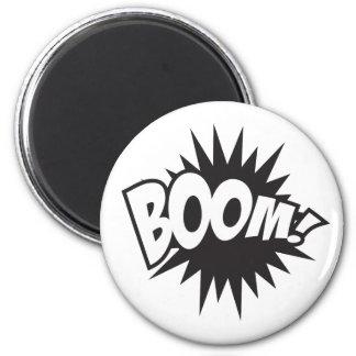 Boom 2 Inch Round Magnet