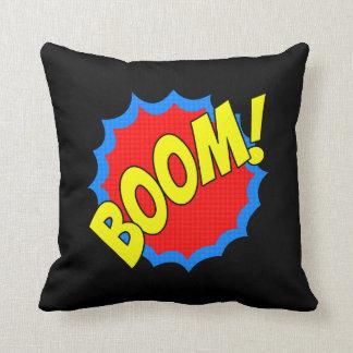 Boom! bdd76Boom Cushion Pillow Throw Pillow