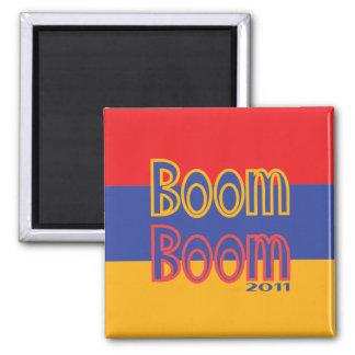 Boom Boom 2 Inch Square Magnet