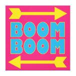 Boom Boom Gallery Wrap Canvas