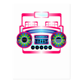 Boom Box by Chillee Wilson Postcard