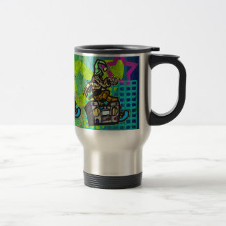 Boom Box Dancer Travel Mug