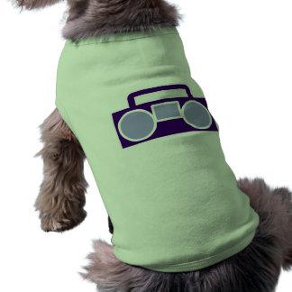 Boom Box Dog Tshirt