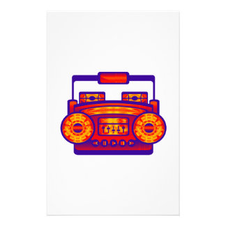 Boom Box Extreme Stationery