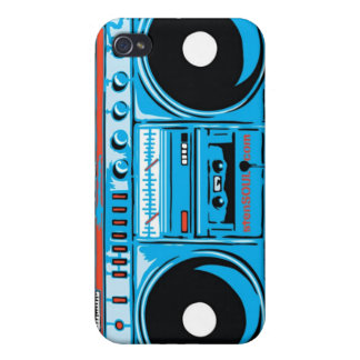 Boom Box EYEPhone 4 Case