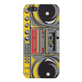 Boom Box EYEPhone 4 Case GREY