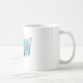 Boom Box Classic White Coffee Mug