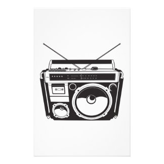 ☞ boom box Oldschool/cartridge player Stationery