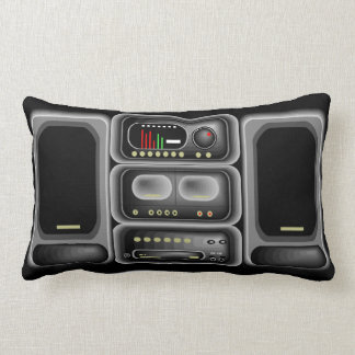 Boom Box Pillow