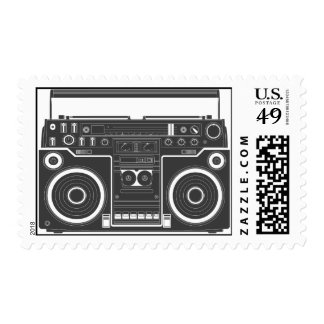 Boom box stamps