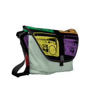Boom Boxes Courier Bags