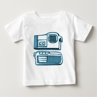 Boom Boxes Old School Technology Baby T-Shirt
