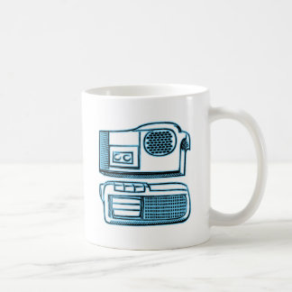 Boom Boxes Old School Technology Classic White Coffee Mug