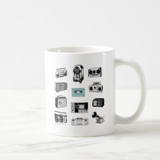 Boom Boxes & Retro Radios Coffee Mug
