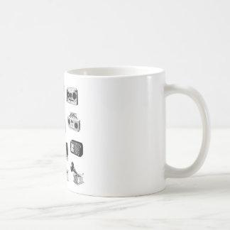 Boom Boxes & Retro Radios Classic White Coffee Mug