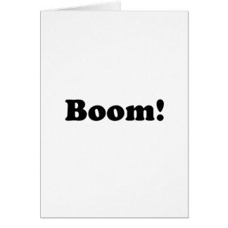 Boom! Card