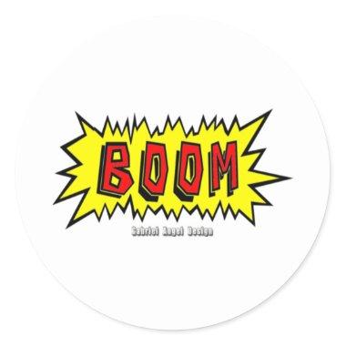 Boom Cartoon Blurb stickers