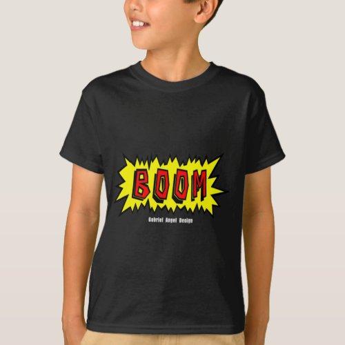 Boom Cartoon Blurb T_Shirt