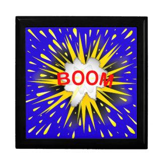Boom Cartoon Bubble Keepsake Box